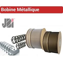 Bobine métallique Wire-O, JBI -De 20 feuilles 3/16 à 250 feuilles 1-1/2 RMB JBI N° 4 - Bobine Métallique JBI