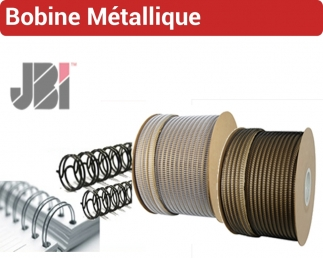Bobine métallique Wire-O, JBI RMB JBI N° 4 - Bobine Métallique JBI