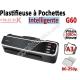 Plastifieuse Automatique Pochettes A3 - Plastifier : 80 /100/125/175/250µ G60 FALCONK N°2 Plastifieuse à pochette Pro