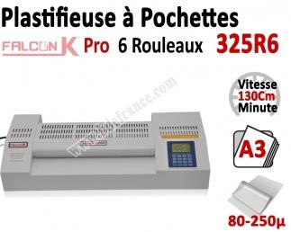 Plastifieuse à Pochettes A3 Pro - 6 Rouleaux 325R6 FALCONK N°2 Plastifieuse à pochette Pro