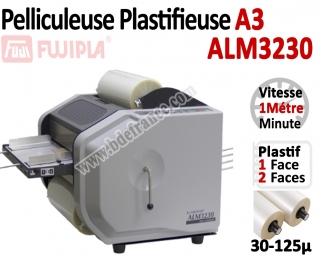 Pelliculeuse & Plastifieuse A3 - Entièrement automatique 30-125µ ALM3230 FUJIPLA N°3 Plastifieuse en continu