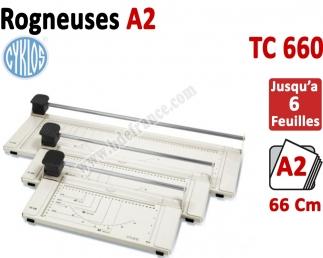 Rogneuses TC 660 -Format A2 Coupe par 6 feuilles TC660 CYKLOS Matériel de coupe