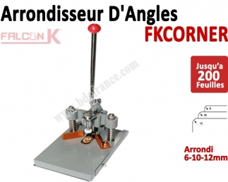 Machine à arrondir FKCORNER - 3 outils inclus 6, 10 et 12mm FKCORNER FALCONK Arrondisseur d'angles