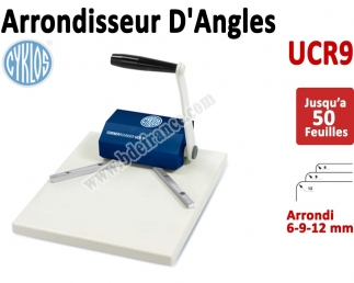 Machine à arrondir UCR-9  - 3 outils inclus 6, 9 et 12mm UCR9 CYKLOS Arrondisseur d'angles
