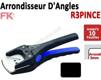 Machine à arrondir Jusqu'à 10 feuilles  -  1 Arrondi de 3mm   R3PINCE R3PINCE  FALCONK Matériel de coupe