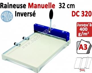 Raineuse : 32cm de 1,2-1,4mm -2 plis inversés écart 7 mm DC320 CYKLOS Les Raineuses Manuelles