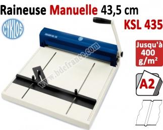 Raineuse : 43,5cm - Traçage Du Rainage 0,8-1-1,5-1,8mm KSL435 CYKLOS Les Raineuses Manuelles
