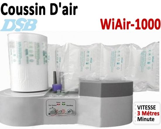 Vitesse gonflage coussins d'air 3m/Min - Jusqu'à 100 Cartons Par Jour WIAIR1000 DSB Machine D'emballage Coussin D'air