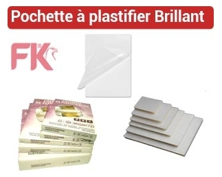 Pochette à plastifier POA FALCONK E1 - Pochette Plastification Brillant, Mat
