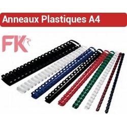 Anneaux Plastiques pas 14.28mm - Du Ø 6 au Ø 51mm 2 à 450 feuilles RIL FALCONK N° 1 - Anneaux plastiques A4