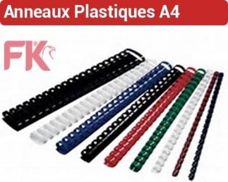 Anneaux Plastiques RIL FALCONK 1 - Anneaux plastiques A4