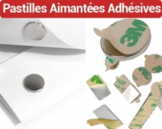 Pastilles Aimantées Adhésives - Ø 6/8/10/12/15/20/25  FALCONK N° 3 - Aimantées Adhésives