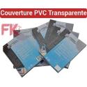 Couverture PVC Polypro Transparent -PVC 20/100 ULTRA A4 & A3
