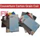 Couverture Carton Grain Cuir A4 & A3 -Cuir Blanc,Noir,Bleu,Rouge 250g CG FALCONK N° 13- Couverture Carton Grain Cuir A4 & A3