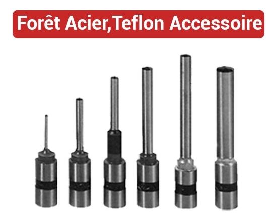 Forêt, accessoires et Affûte-foret - Du Ø 2mm au Ø 10mm FO FALCONK N° 4 - Forêt et Accessoires
