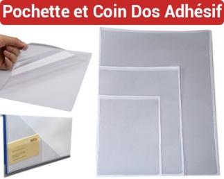 Pochette et Coin Dos Adhésif - Pochette CD dos adhésif Po FALCONK N° 3 - Pochette et coin Dos-Adhésif