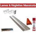 Lames & Réglettes pour massicots - IDEAL, EBA, DALHE, POLAR, MOHR