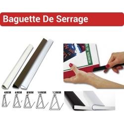 Baguette de serrage à coin arrondi - De 2 à 120 Feuilles de 4 à 12 mm SE FALCONK N° 9 - Baguette de serrage