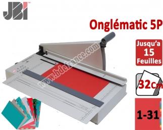 Découpe d'intercalaire 31 Touches - Programmable: 15 feuilles 5-32 CM ON5P JBI N°6 Découpes d'Onglets