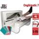 Découpe d'intercalaire 31 Touches - Programmable: 40 feuilles 5-32 CM ON7 JBI N°6 Découpes d'Onglets