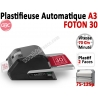 Plastifieuse A3 FOTON 30 - Entièrement automatique 75-125µ FOTON30 GBC N°4 Pelliculeuse et Plastifieuse automatisée