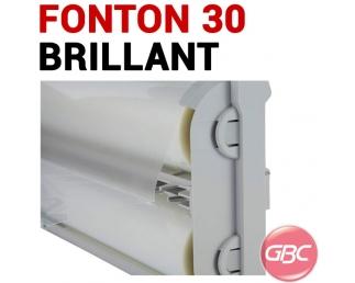 Cartouche GBC Foton 30 - Cartouche de film Brillant 75-125µ Cartouche GBC Foton 30 GBC N° 8 - Cartouche De Film Pour Plastifi...