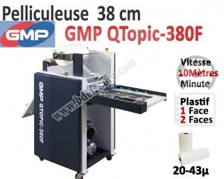 Pelliculeuse 20-43mic A3+ - GMP QTopic-380F QTOPIC380 FUJIPLA N°4 Pelliculeuse et Plastifieuse automatisée