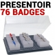 Identification, Clip, Cordon Badge CLIP FALCONK N° 7 - Identification, Clip, Cordon Badges