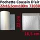 Vitesse gonflage coussins d'air 3m/Min - Jusqu'à 100 Cartons Par Jour WIAIR1000 DSB Accueil