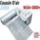 Vitesse gonflage coussins d'air 8m/Min - Jusqu'à 200 Cartons Par Jour WIAIR3000+ DSB Machine D'emballage Coussin D'air