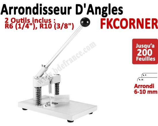Machine à arrondir FKCORNER - 2 outils inclus 6, 10 mm FKCORNER FALCONK Arrondisseur d'angles