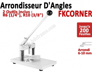 Machine à arrondir FKCORNER - 2 outils inclus 6, 10 mm FKCORNER FALCONK Arrondisseur d'angles
