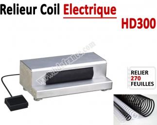 Relieur Coil Electrique -  Relier jusqu'a 270 Feuilles HD300 FALCONK C - Relieur professionnel