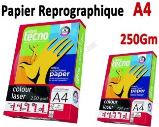 Papier Reprographique Laser 125 feuilles A4 - INAPA TECNO 250g INAPA TECNO  Accueil