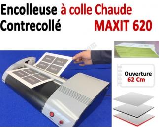 Encolleuse & Contrecollage à colle - Ouverture 62 Cm MAXIT620MX-II BDE Machine à relier par Thermoreliure