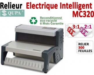 Relieur Electrique Metal 3:1 & 2:1 -Relier jusqu'au 300 feuilles. MC320POCC QUPA  C - Relieur professionnel