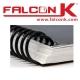 Spirales plastique Coil Pas : 4:1 - Du Ø 6 au Ø 33mm 2 à 270 feuilles SPG FALCONK N° 6 - Spirales plastique Coil 4:1