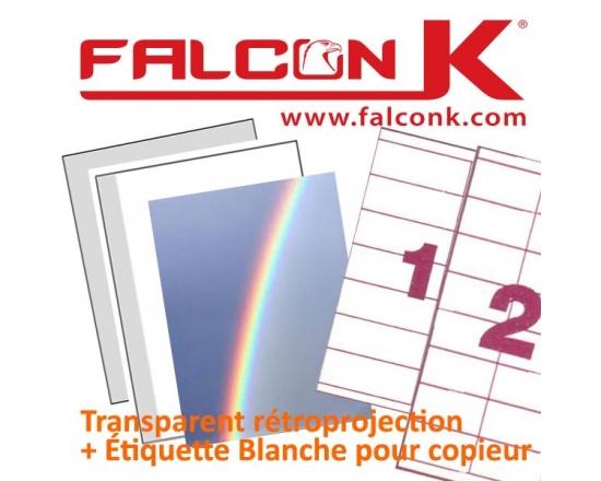 Transparent Rétroprojection & Etiquette A4 RS AGIPPA N° 1 - Transparent Rétroprojection A4,A3