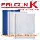 Couverture pré-encollée carton CP-SP BDE C - Consommable Pour Reliure Thermique