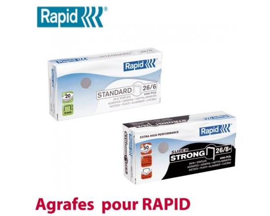 Agrafe pour RAPID  RAPID N° 1 - Agrafes pour Rapid