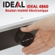 Pression Automatique + Écran Tactile Longeur Coupe : 475 mm- Coupe 80 mm ID4860 IDEAL Massicots électriques
