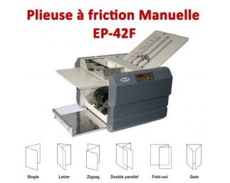 Plieuse à friction Manuelle A5-A4-A3 - Papier Maxi 46 à 160 g/m2 EP-42F  Plieuse à friction