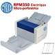 Microperforation Electrique : 35cm - Micro-perfo 55 et 180 g/m2  RPM350  N° 1 Raineuses & Microperforation