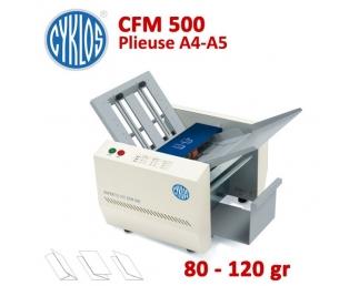 Plieuse à friction Manuelle A5-A4 - Papier Maxi 80 à 120 g/m2 CFM500  Plieuse à friction