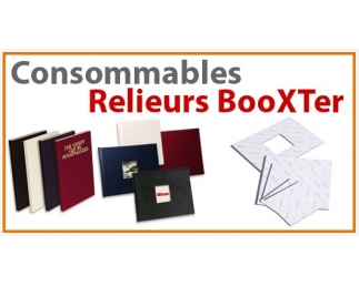 Consommables pour relieurs BooXTer Agrafer  BDE F - Consommable Pour FASTBIND