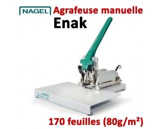 Agrafe jusqu'à 170 feuilles - 2-170 feuilles Agrafes 50-6 à 50-20S ENAK  Plieuse à friction