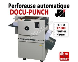 Perforation automatique A4 - 17,000 feuilles/heure DOCU-PUNCH Mk2 JBI Machine à relier par anneaux