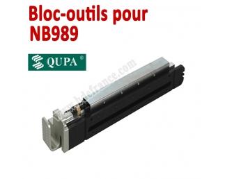 Bloc-outils pour Perforateur NB989  BDE Machine à relier par anneaux