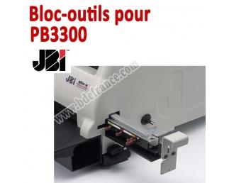 Bloc-outils pour Perforateur PB3000  JBI Machine à relier par anneaux