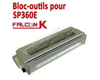 Bloc-outils pour Perforateur SP360E  BDE Machine à relier par anneaux